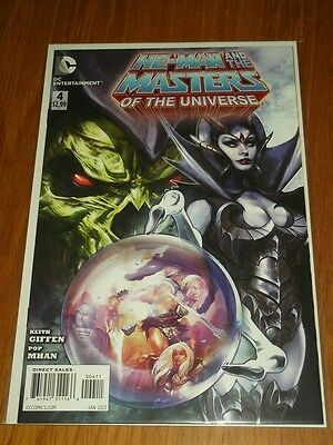 He Man Masters Of The Universe #4 Dc Comics Nm (9.4)