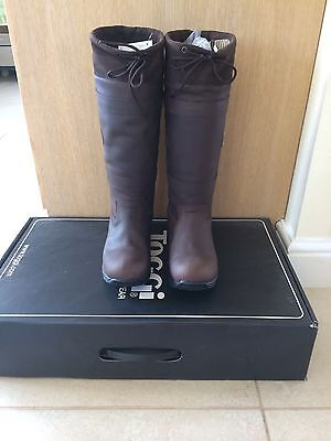 BNWT Toggi Canyon Waterproof Leather Boots Brown Size 5/Euro38