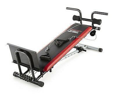 Weider Ultimate Body Works Home Gym, Tan Incline Adjustable Workout Bench