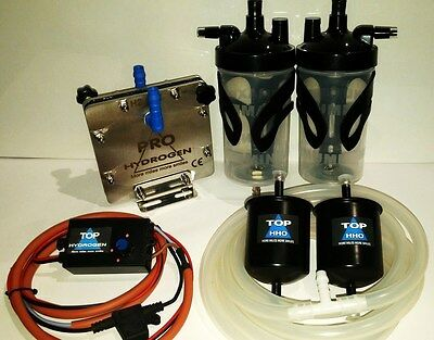 H2 Pure Hydrogen Generator Dm-45, Fuel Economy Kit For Cars Ccpwm+Hho Function