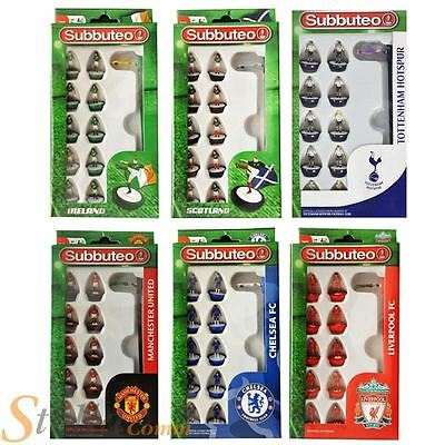 Subbuteo Team Sets - Brand New Boxed Football Game Figures By Paul Lamond