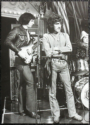 The Who Poster Page 1968 Roger Daltrey & John Entwistle. Not Cd Dvd . 2
