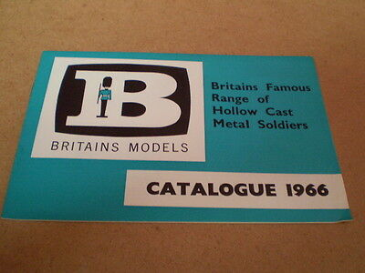 Britains Model Toy Catalogue 1966 Usa Edition Excellent/mint Condition For Age