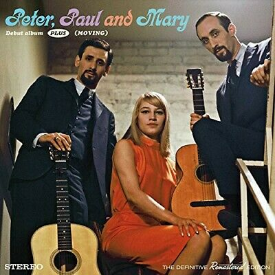 Peter, Paul and Mary - Debut Album Plus Moving [New CD] Spain - Import