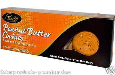 New Pamela's Products Gourmet All Natural Cookies Snacks Gluten Free Daily Foods