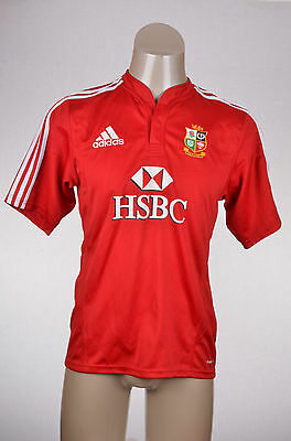 British Lions Rugby Shirt ADIDAS Red 2009 Kit Top Match