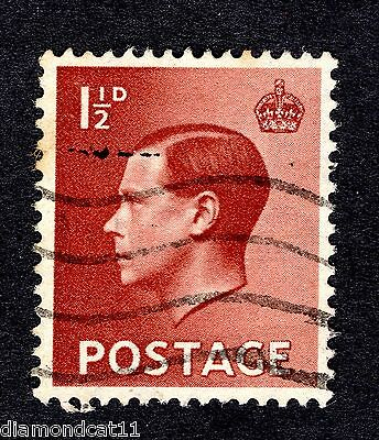1936 1.5d Red-Brown SG 459 FINE Used R24397