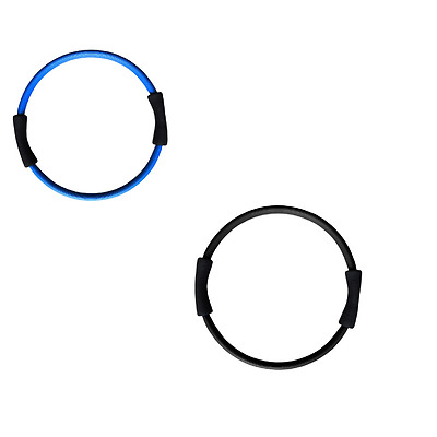 Pilates Toning Ring Circle Double Grip 2 Color Muscle Exercises Toning