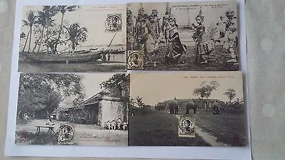 cartes postales anciennes d'indochine