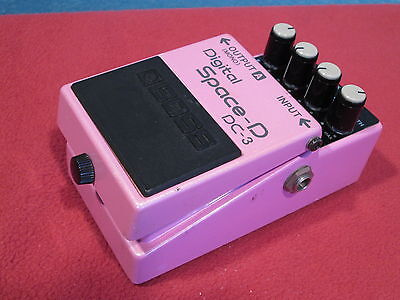 BOSS DC-3 Space-D Digital Chorus Guitar Effects Pedal MIJ Used