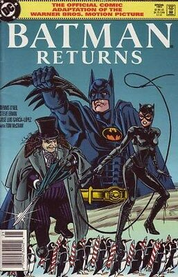 "Comic DC ""Batman Returns (Movie) Comic Adaption #1"" 1992 NM"