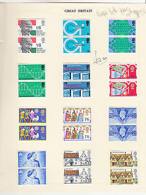 ref. 2557 PAGE GB PAIRS MINT
