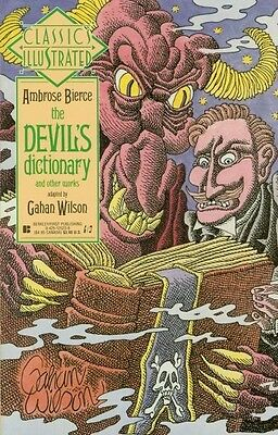 "Comic First ""Classics Illustrated: The Devil's Dictionary #18"" 1990 NM"