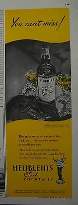 "1945 Heublein's Club Cocktails Dry Martini & Five-barreled ""duck's-foot"" Pistol"