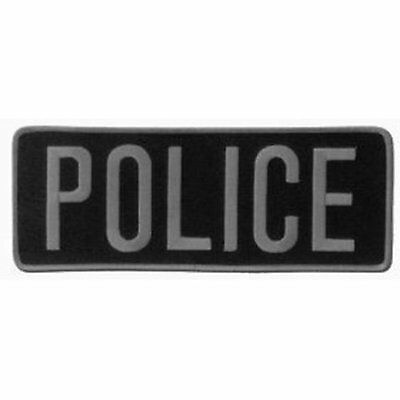 "POLICE Officer Large Uniform BACK PATCH Badge Emblem Insignia 11"" x 4""  Applique"