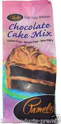 New Pamela's Products Chocolate Mix Gluten Wheat Free Whole Grains Daily Care