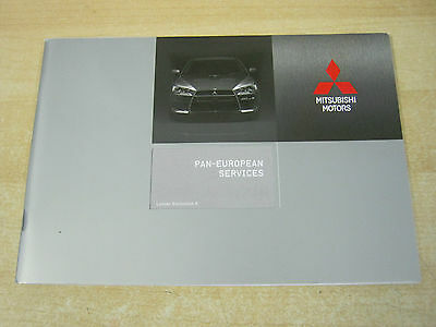 Mitsubishi Lancer Evolution X New Genuine Service Book