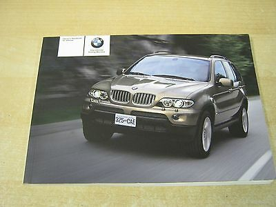 Bmw X5  Owners Handbook Owners Manual 2004-2008