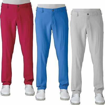 SALE!! Adidas 2016 Ultimate Tapered Fit Pants Water-Resistant Mens Golf Trousers