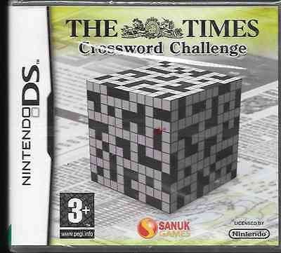 The Times Crossword Challenge Nintendo Ds Game New/sealed