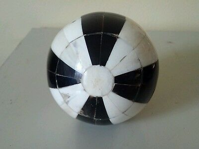 Decorative Ball. Made of Camel Bone, Cow Horn.