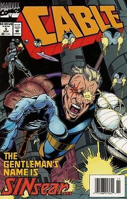 """Comic Marvel """"Cable #5"""" 1993 NM"""
