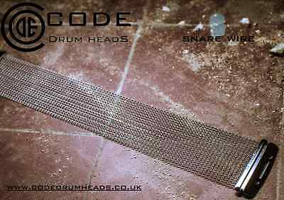 """Snare Drum Wires With Straps - For 14"""" Snare Drum - 20 Strand - Code"""