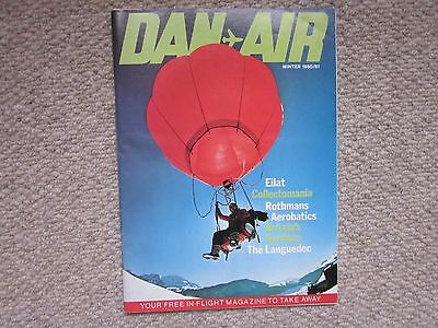 DAN-AIR Services Ltd In-flight Magazine Winter1980/81