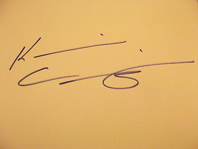Another World House Of Cards KEVIN CARRIGAN hand signed card