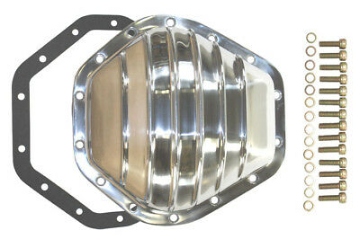 "Polished Finned 10.5"" 14 Bolt Differential Cover Chevy GMC Truck  2500 / 3500"
