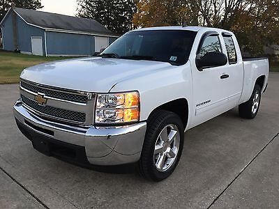 2012 Chevrolet Silverado 1500 LT Extended Cab Pickup 4-Door 2012 CHEVROLET SILVERADO 1500 LT2 1 OWNER CLEAN GARAGED NO RUST HIGHWAY DRIVEN