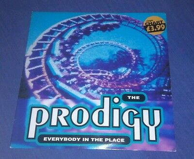 """The Prodigy 12"""" Single 1992.  'everybody In The Place.'  Xlt - 26.  Ex Con."""