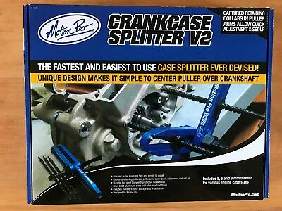 Motion Pro Crank Case Crankcase Splitter V2 Quick Action Engine Service Tool
