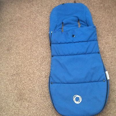 Bugaboo Blue Footmuff Cosy Toes Immaculate Condition