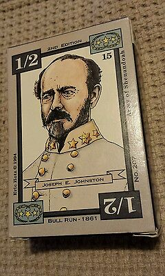 Dixie -- Bull Run - 1861 American Civil War Trading Card Game Opened Never Used