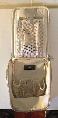 NEW JAL Japan Airlines First Class LOEWE Airline Amenity Bag - Only Bag
