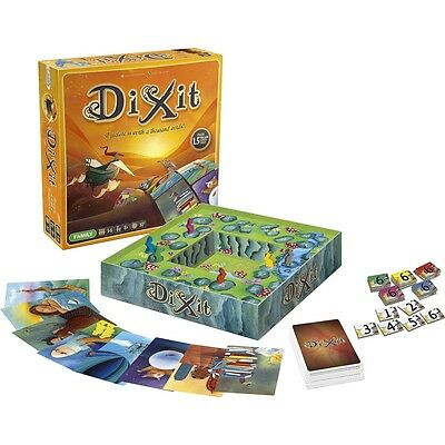 Dixit Family Board Game Libellud Edition Storytelling Imagination Bestseller
