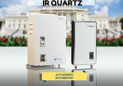 SuperGreen Infrared Electric Tankless Water Heater. All Models. No Corrosion