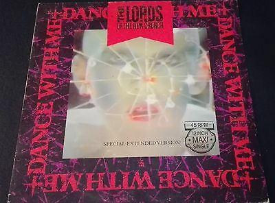 "The Lords Of The New Church ""dance With Me"" Maxi 12""  Ex /ex +Autographs +Ticket"