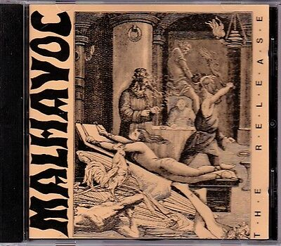 Malhavoc - The Release  EXTREMELY RARE OOP ORIG Canadian Death Metal CD (Mint!)