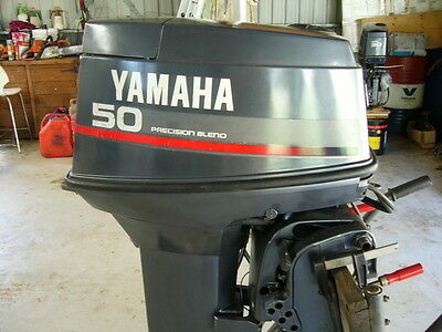 Yamaha 50 H.P. outboard 2 stroke 1994 model