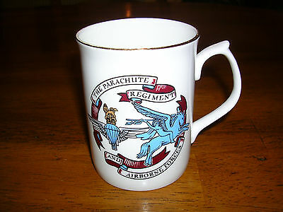 Parachute Regiment Edwardian Bone China Cup 50Th Anniversary Normandy Landing