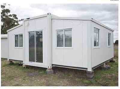 2 bedroom 36m2 Insulted Expandable Folding Granny Flat - DISCOUNTED !!!