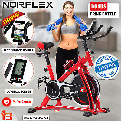 Norflex Spin Bike Flywheel Fitness Commercial Exercise Indoor Home Workout Gym