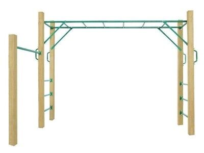 Lifespan Kids Amazon Monkey Bars Including Wooden Posts As Pictured