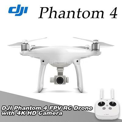 New DJI Phantom 4 Drone FPV RC Quadcopter with 4K HD Camera UK Stock N5A3