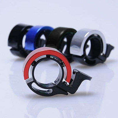 New Bike Bicycle Invisible Bell Aluminum Alloy Loud Sound Handlebar Safety Horn