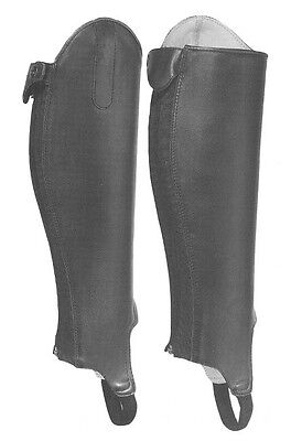 Leather Gaiters - Large