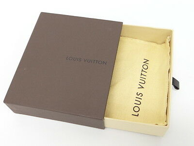 Auth LOUIS VUITTON Gift Box Storage Empty With Dust Bag 0 Ship 98130058200 L25F
