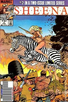 Sheena (1984 Marvel) #2 VG LOW GRADE